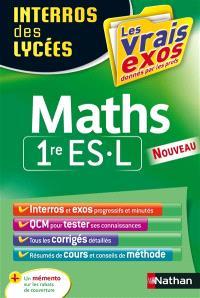 Maths 1re ES, L
