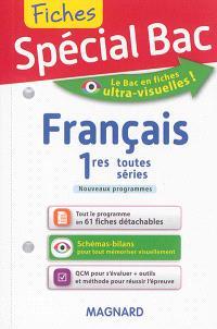 Français 1res toutes séries : nouveaux programmes