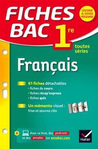 Français, 1re toutes séries
