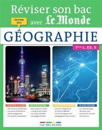 Géographie Terminale, séries L, ES et S