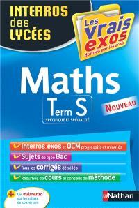 Maths : terminale S, spécifique et spécialité
