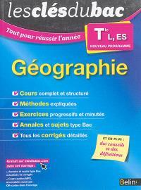 Géographie terminale L, ES : nouveau programme