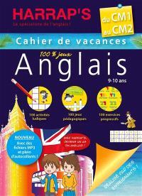 Cahier de vacances anglais Harrap's du CM1 au CM2, 9-10 ans