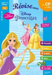 Révise avec Disney Princesses : du CP au CE1, 6-7 ans : nouveaux programmes