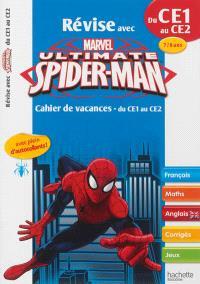 Révise avec Spider-Man : cahier de vacances du CE1 au CE2, 7-8 ans