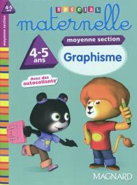 Graphisme moyenne section, 4-5 ans