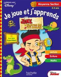 Jake et les pirates du Pays imaginaire : je joue et j'apprends, moyenne section, 4-5 ans