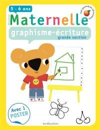 Maternelle, graphisme-écriture, grande section, 5-6 ans