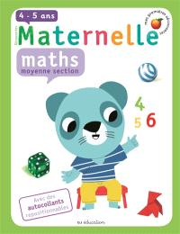 Maternelle, maths, moyenne section, 4-5 ans