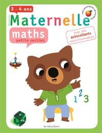 Maternelle, maths, petite section, 3-4 ans