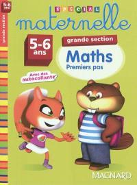 Maths, grande section, 5-6 ans : premiers pas