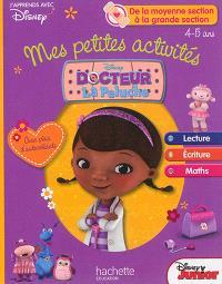 Mes petites activités avec docteur La Peluche : MS-GS : lecture, écriture, maths