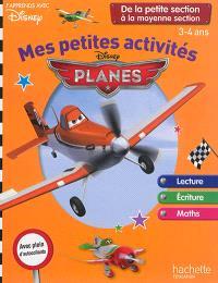 Mes petites activités avec Planes : de la petite section à la moyenne section, 3-4 ans
