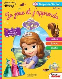 Princesse Sofia : je joue et j'apprends, moyenne section, 4-5 ans