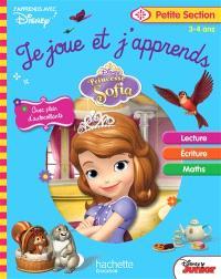 Princesse Sofia : je joue et j'apprends, petite section, 3-4 ans