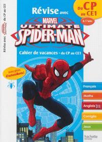 Révise avec Spider-Man : cahier de vacances du CP au CE1, 6-7 ans