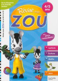 Révise avec Zou : de la moyenne à la grande section, 4-5 ans