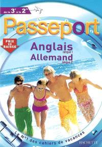 Passeport anglais langue 1, allemand langue 2, de la 3e à la 2e