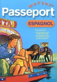 Passeport espagnol de la 3e à la 2de ou de la 5e à la 4e : langue 1 ou langue 2