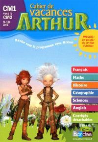 Arthur cahier de vacances CM1 vers le CM2, 9-10 ans