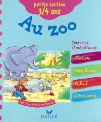 Au zoo : petite section