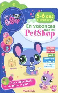 En vacances avec les Petshop 5-6 ans, de la GS au CP