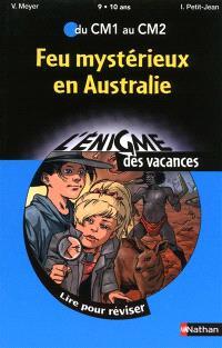 Feu mystérieux en Australie : du CM1 au CM2