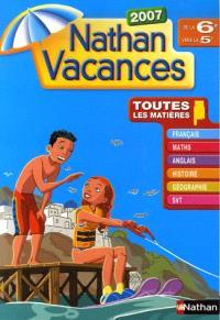 Français, maths, anglais, hist, géo SVT 6e