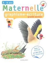Graphisme écriture, grande section, 5-6 ans