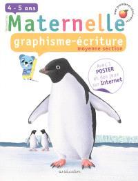 Graphisme écriture, moyenne section, 4-5 ans