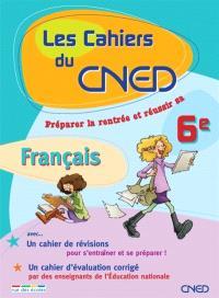 Les cahiers du CNED, vers la 6e : français