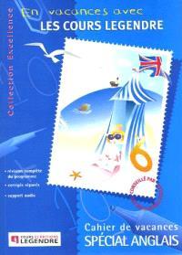 Les cahiers vacances des cours Legendre, grande maternelle