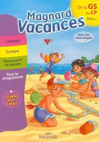 Magnard vacances de la GS vers le CP, 5-6 ans