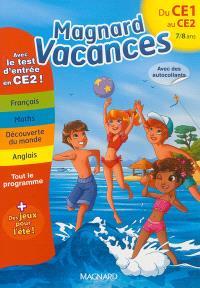 Magnard vacances du CE1 vers le CE2, 7-8 ans