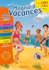 Magnard vacances du CM1 vers le CM2, 9-10 ans