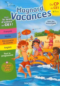 Magnard vacances du CP vers le CE1, 6-7 ans