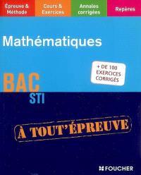 Mathématiques : bac STI