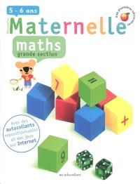 Maths, grande section, 5-6 ans