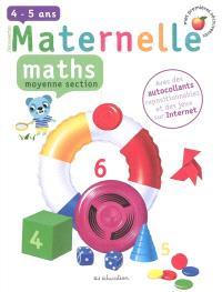 Maths, moyenne section, 4-5 ans
