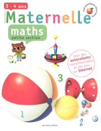 Maths, petite section, 3-4 ans