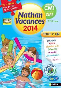 Nathan vacances 2014, du CM1 vers le CM2, 9-10 ans : tout en un