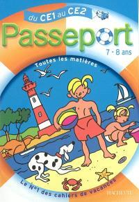 Passeport du CE1 au CE2, 7-8 ans : avec autocollants récompenses