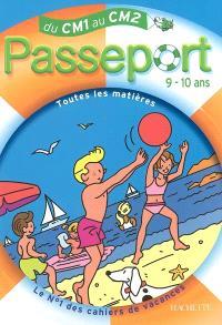 Passeport du CM1 au CM2, 9-10 ans : avec autocollants récompenses