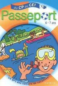 Passeport du CP au CE1, 6-7 ans