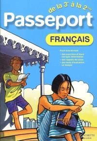 Passeport français de la 3e à la 2de