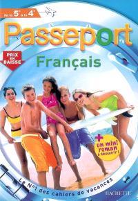 Passeport français, de la 5e à la 4e