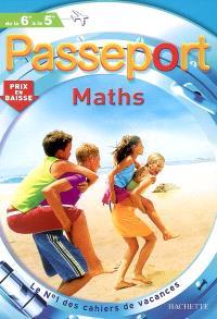 Passeport maths, de la 6e à la 5e