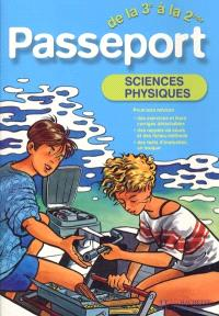 Passeport sciences physiques de la 3e à la 2de