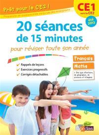 Prêt pour le CE2 ! : 20 séances de 15 minutes pour réviser toute son année : CE1 vers le CE2, été 2013