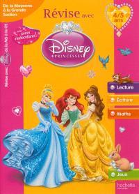 Révise avec Disney Princesses : de la moyenne à la grande section, 4-5 ans